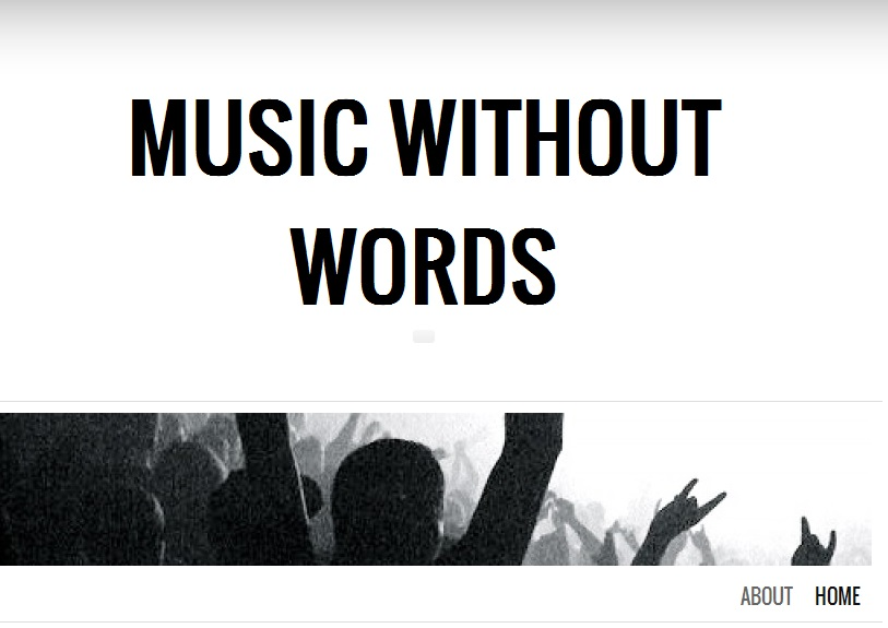 Music magazine: music without words